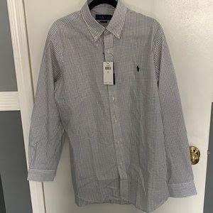 Men's NWT Polo Ralph Lauren button down shirt